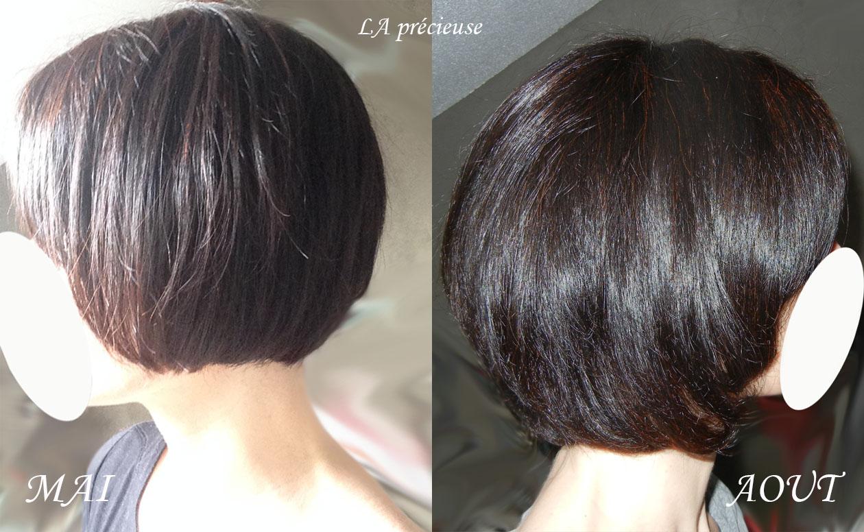 Pousse de cheveux en 8 mois